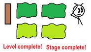 Green flag sprites