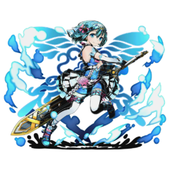 High-res Lake Fairy Viviane without bg