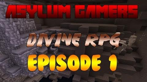 Minecraft Divine RPG Episode 1 Houses and Treehouses