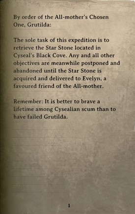 DOS Items Books Parchment (dying orc) Page