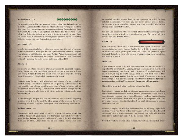 DOS Game Manual Page 21