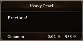 DOS Items Precious Heavy Pearl