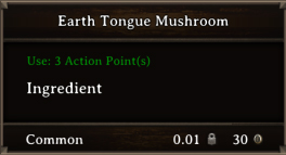 DOS Items CFT Earth Tongue Mushroom