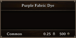 DOS Items CFT Purple Fabric Dye