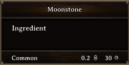 DOS Items CFT Moonstone