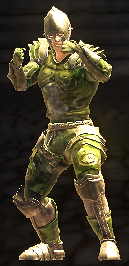 Shadow archer fighting stance