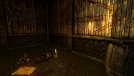 Crowell's House Champion corpse and Dead Champion Note (D2 FoV location)