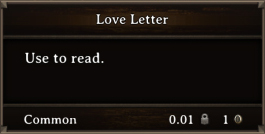 DOS Items Books Love Letter