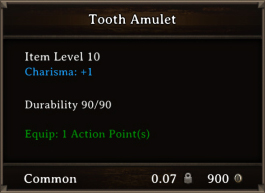 DOS Items CFTX 10.5 Tooth Amulet