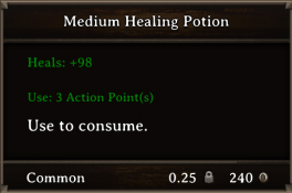 DOS Items Pots Medium Healing Potion