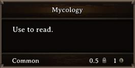 DOS Items Books Mycology