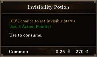 DOS Items Pots Invisibility Potion 3 Stats