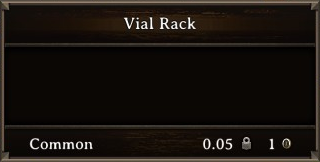 DOS Items Misc Vial Rack Stats