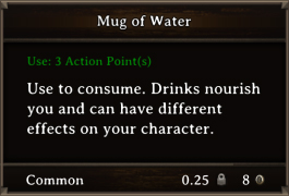 DOS Items FnD Mug of Water