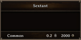DOS Items CFT Sextant