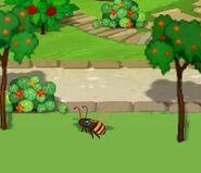 Dizzy activity find the bee sprite 1
