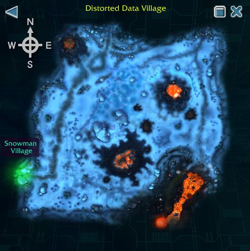 Distorted Data Village