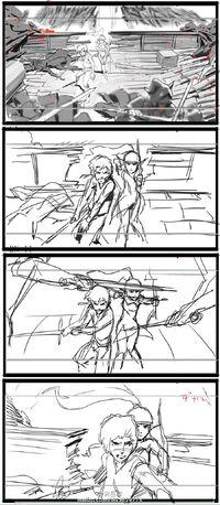 Lambert liya fight storyboard