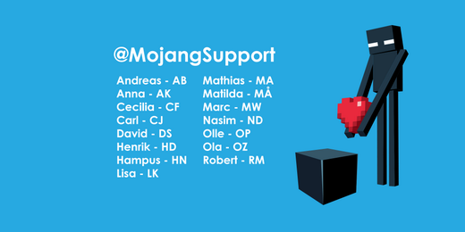 File:MojangSupport Twitter Header.png