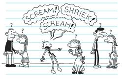 Greg screams Abigail