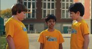 Diary of a Wimpy Kid - Greg, Rowley, Chirag, and the Cheese