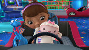 Doc, stuffy and lambie at a car game2