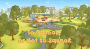To Squeak, or Not to Squeak