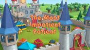 The most impatient patient title