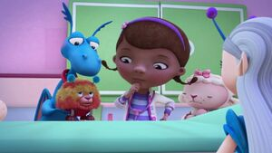 Stuffy, Squibbles, Doc and Lambie