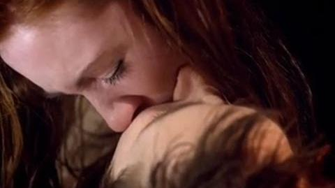 Amy saves Rory's life...again - Doctor Who - The Curse of the Black Spot - Series 6 - BBC