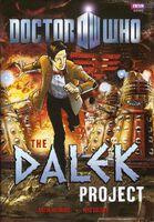 Dalek project final cover matt smith