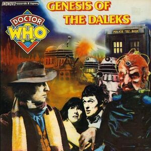 Genesis of the daleks cd