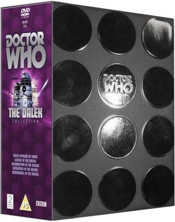 Dalek collection 2007 uk dvd