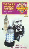 Dalek invasion of earth part 1 uk vhs