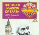 The Dalek Invasion of Earth (VHS)