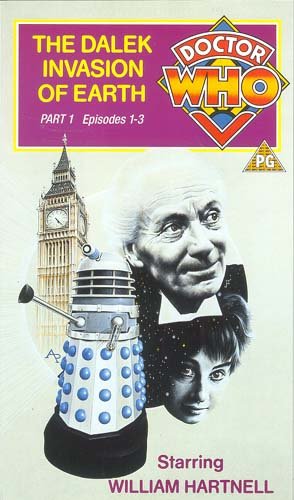 Dalek invasion of earth part 1 uk vhs