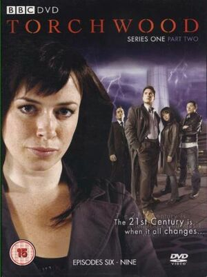 Torchwood series one part two uk dvd