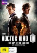 Day of the doctor australia dvd