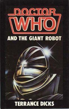 Giant robot hardcover
