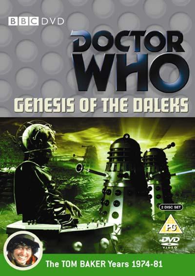 Genesis of the daleks uk dvd