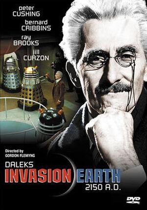 Daleks invasion earth us dvd
