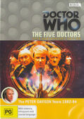 Five doctors anniversary edition australia dvd
