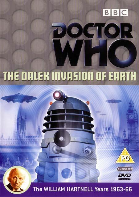 Dalek invasion of earth uk dvd