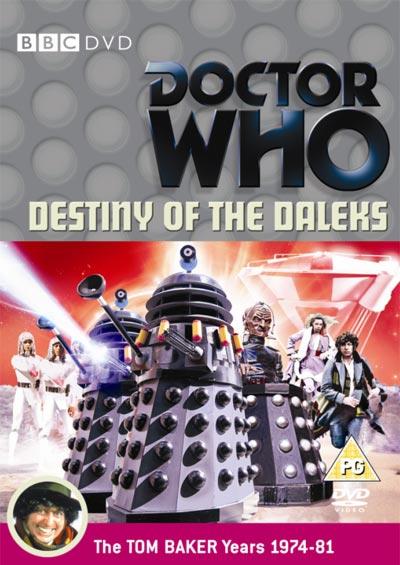 Destiny of the daleks uk dvd