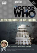 Remembrance of the daleks australia dvd