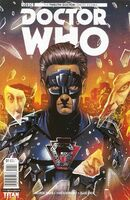 Twelfth doctor ghost stories issue 1a