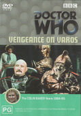 Vengeance on varos australia dvd