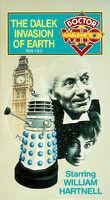 Dalek invasion of earth us vhs