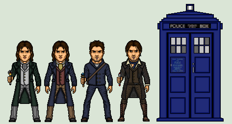 The 8th doctor by stuart1001-d6vug00
