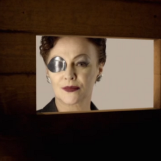 Eye Patch Lady in The Curse of the Black Spot